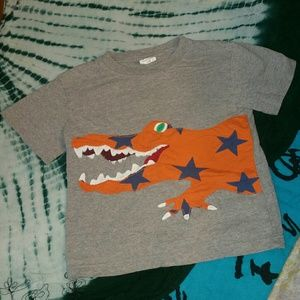 Mini Boden Crocodile Short Sleeve T Shirt Size 5-6